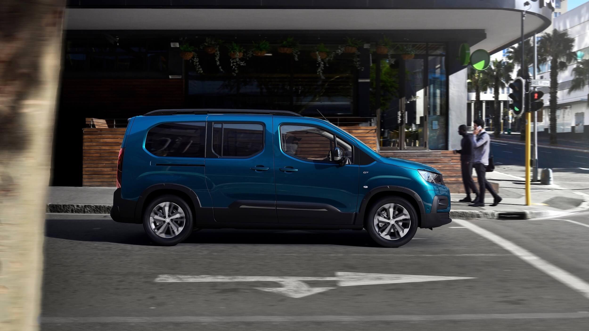 Peugeot e Rifter profiel