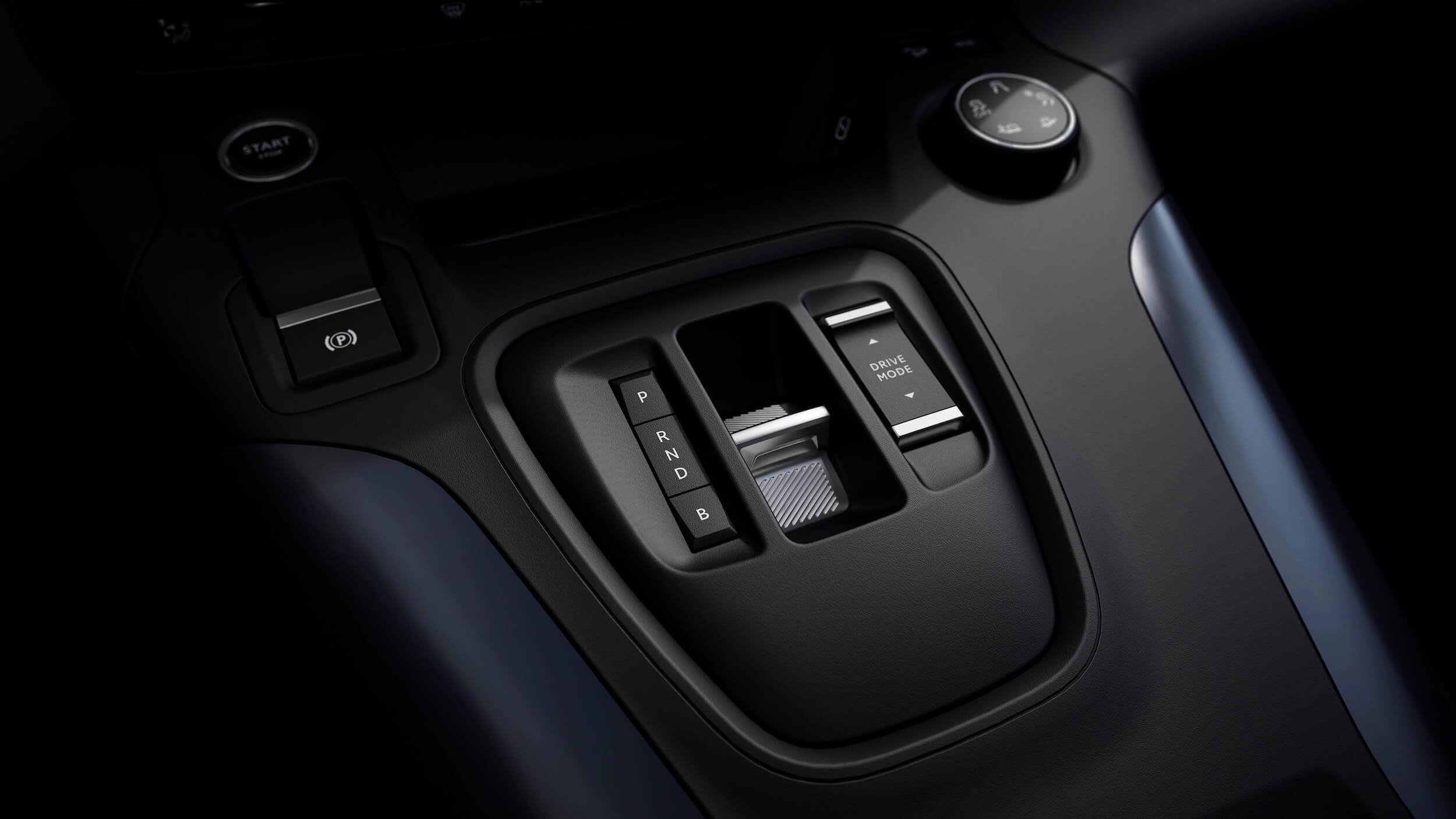Peugeot e Rifter versnellingen