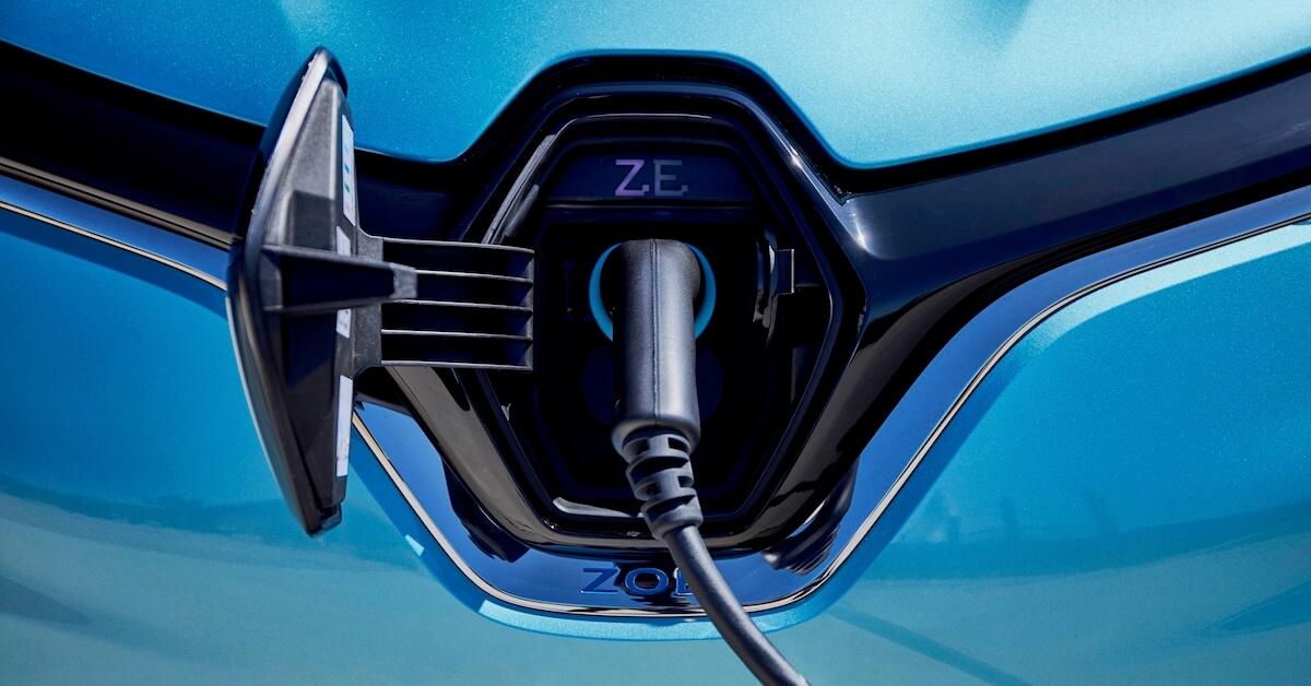 Renault ZOE oplaad plug