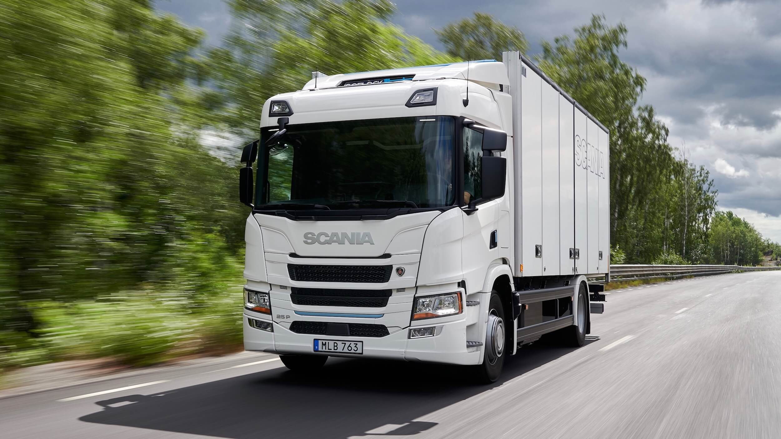 Scania 25 P e truck