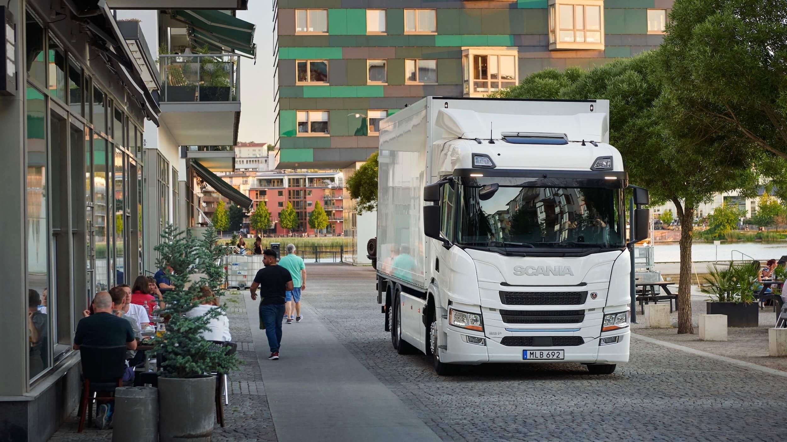 Scania 25 P elektrische vrachtwagen