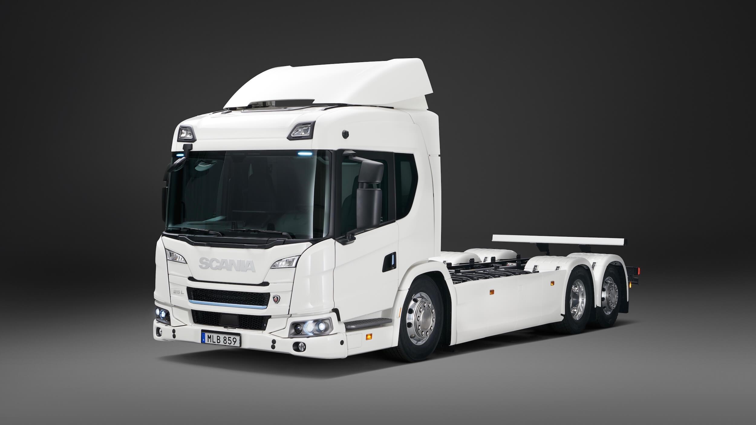 Scania 25 P vrachtwagen