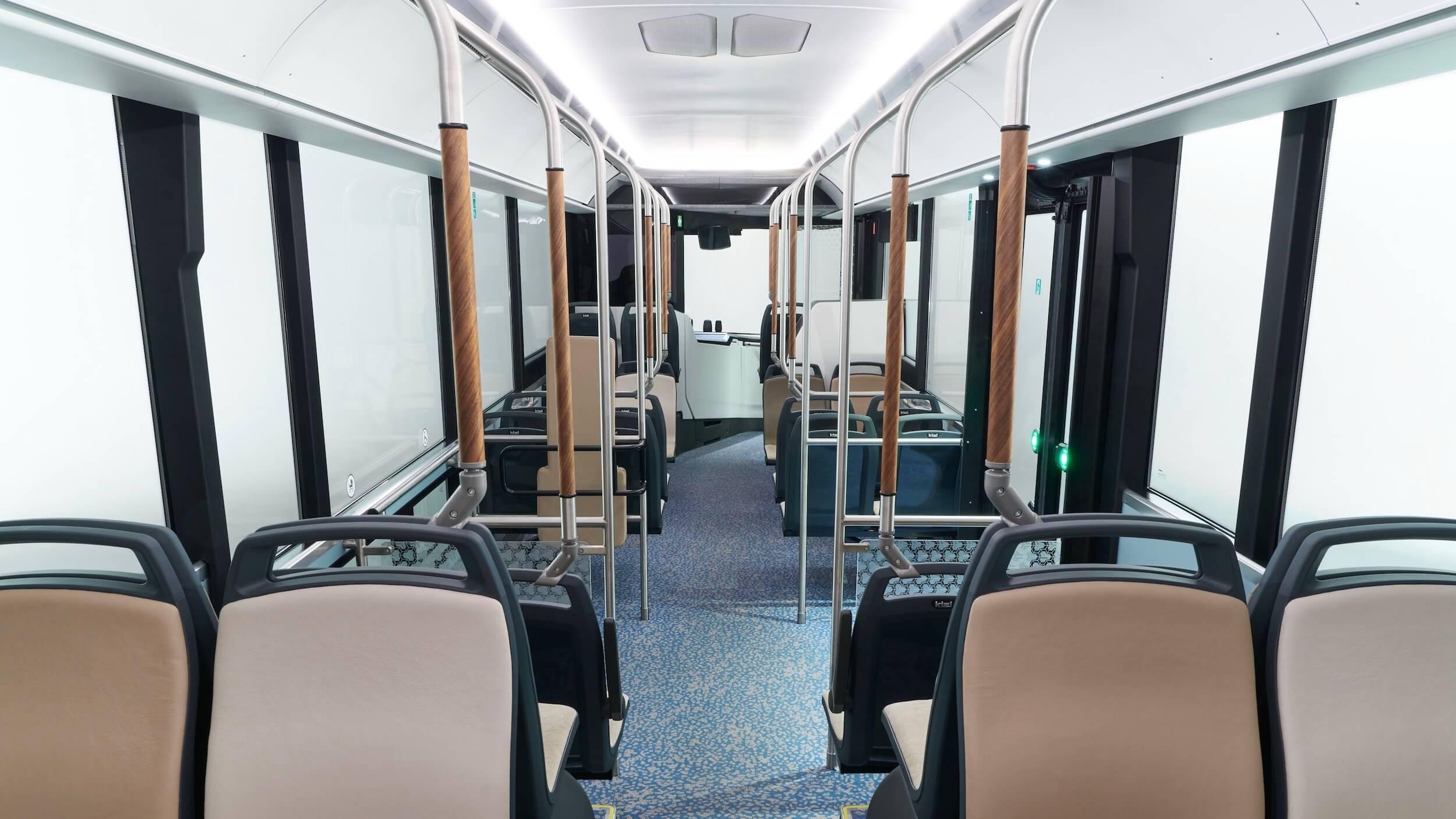 Scania e bus interieur stoelen