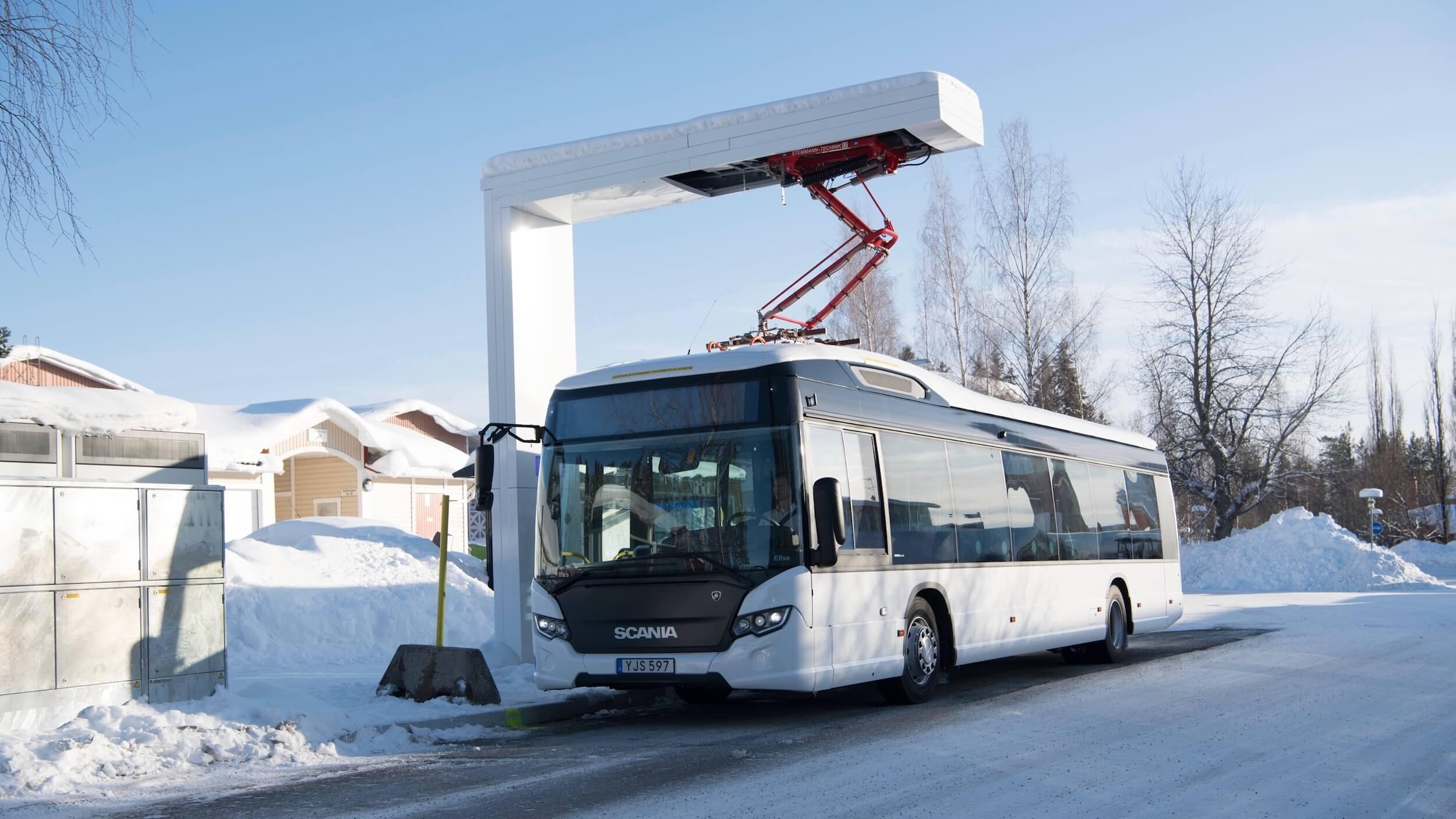Scania elektrische bus