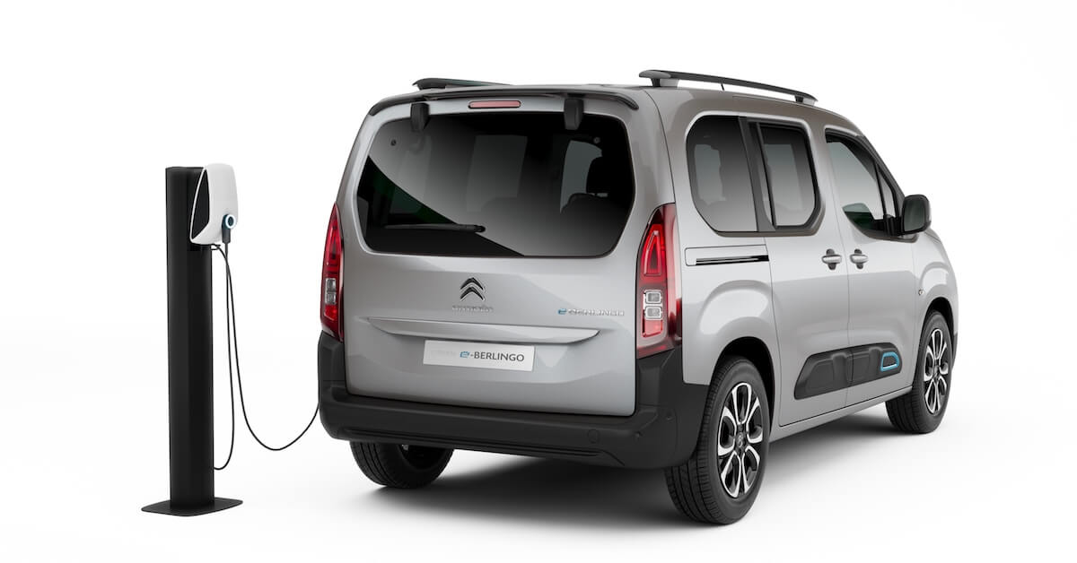 elektrische Citroen e Berlingo laden