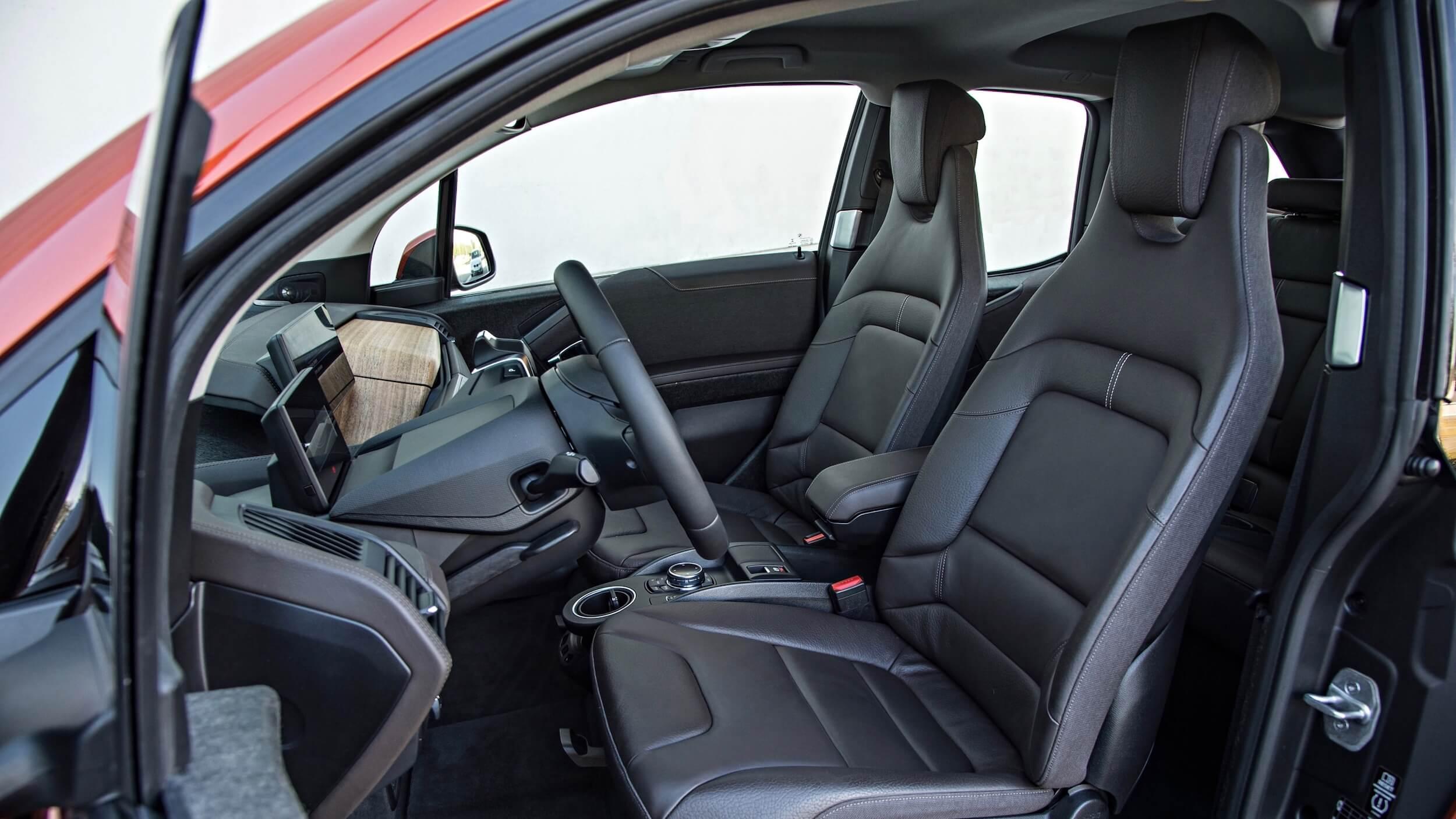 2013 BMW i3 interieur