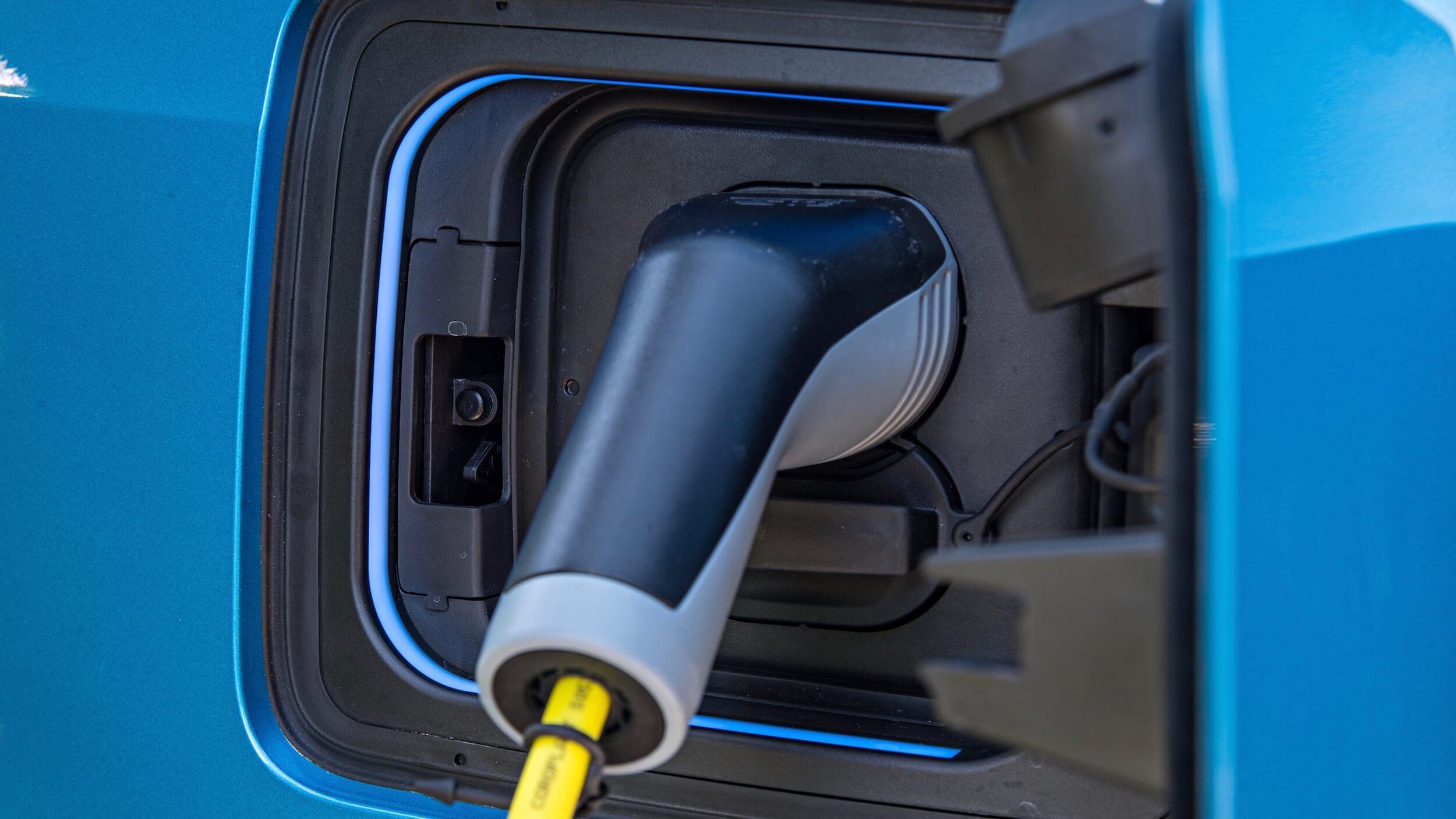 2013 BMW i3 laadklep