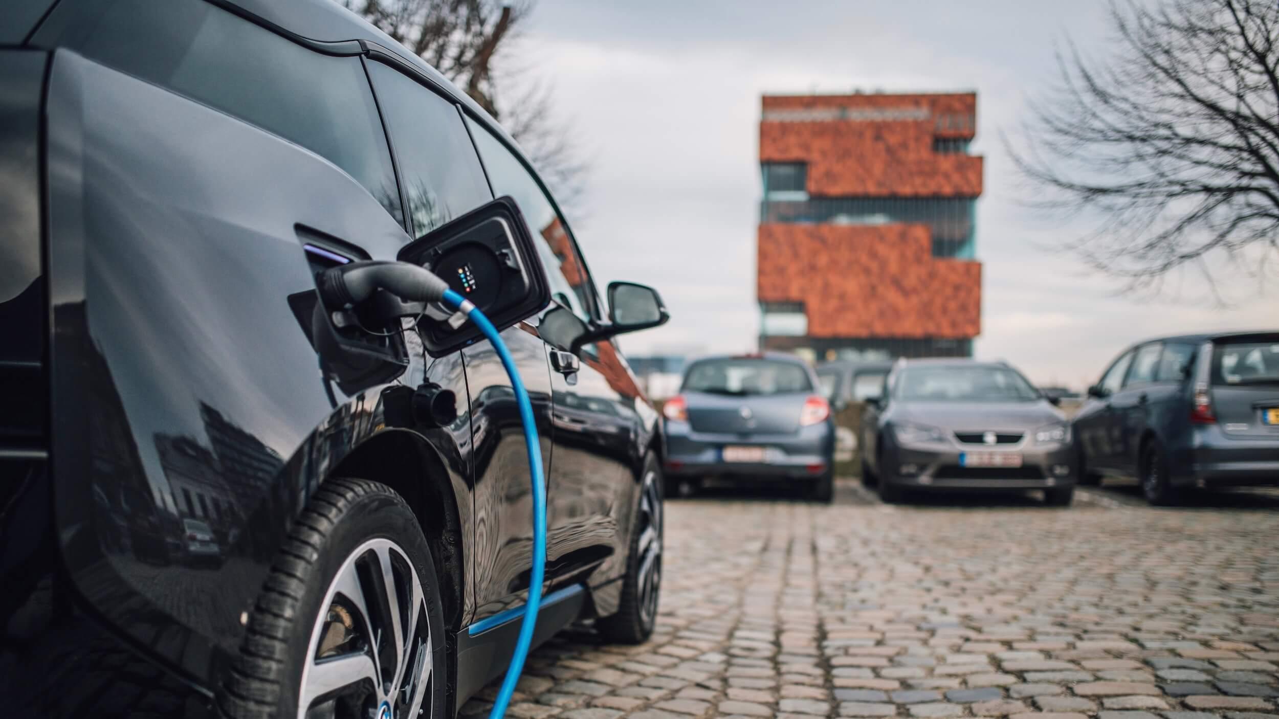 2013 BMW i3 laden in Antwerpen