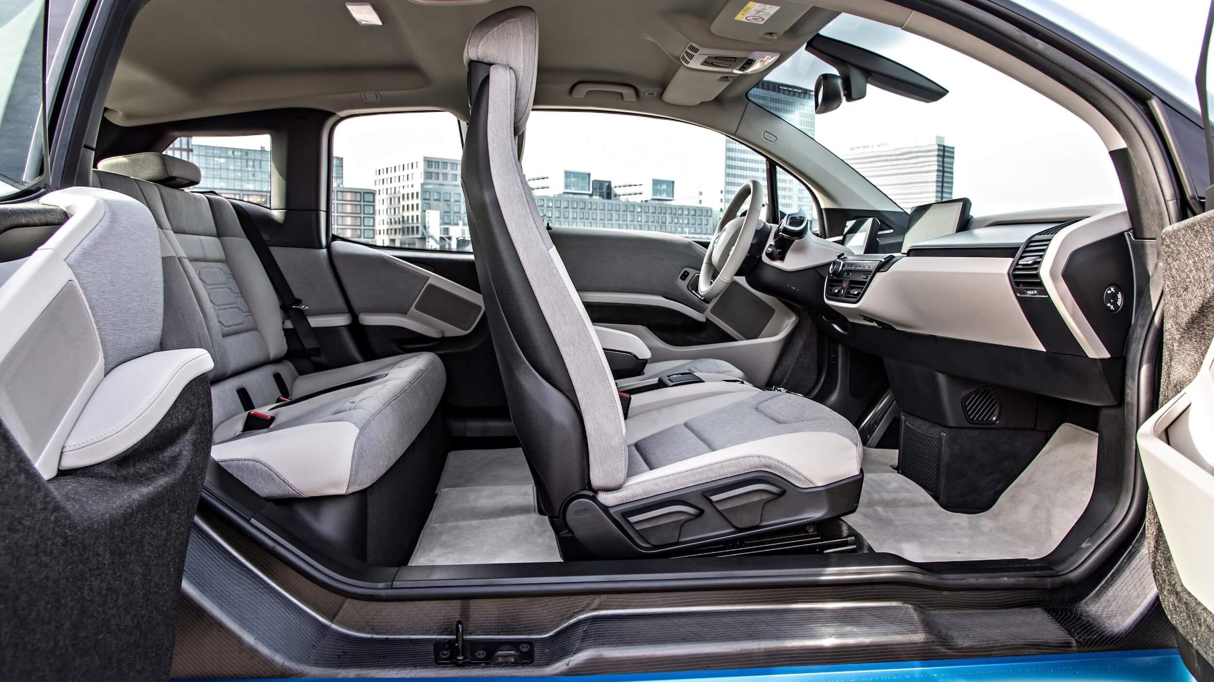 2013 BMW i3 zetels