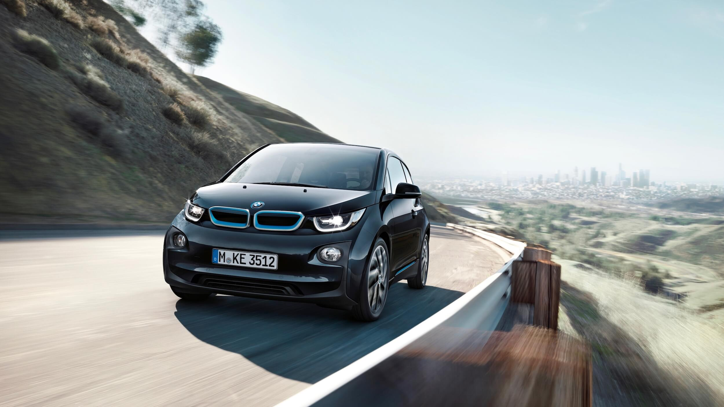 2013 BMW i3 zwart