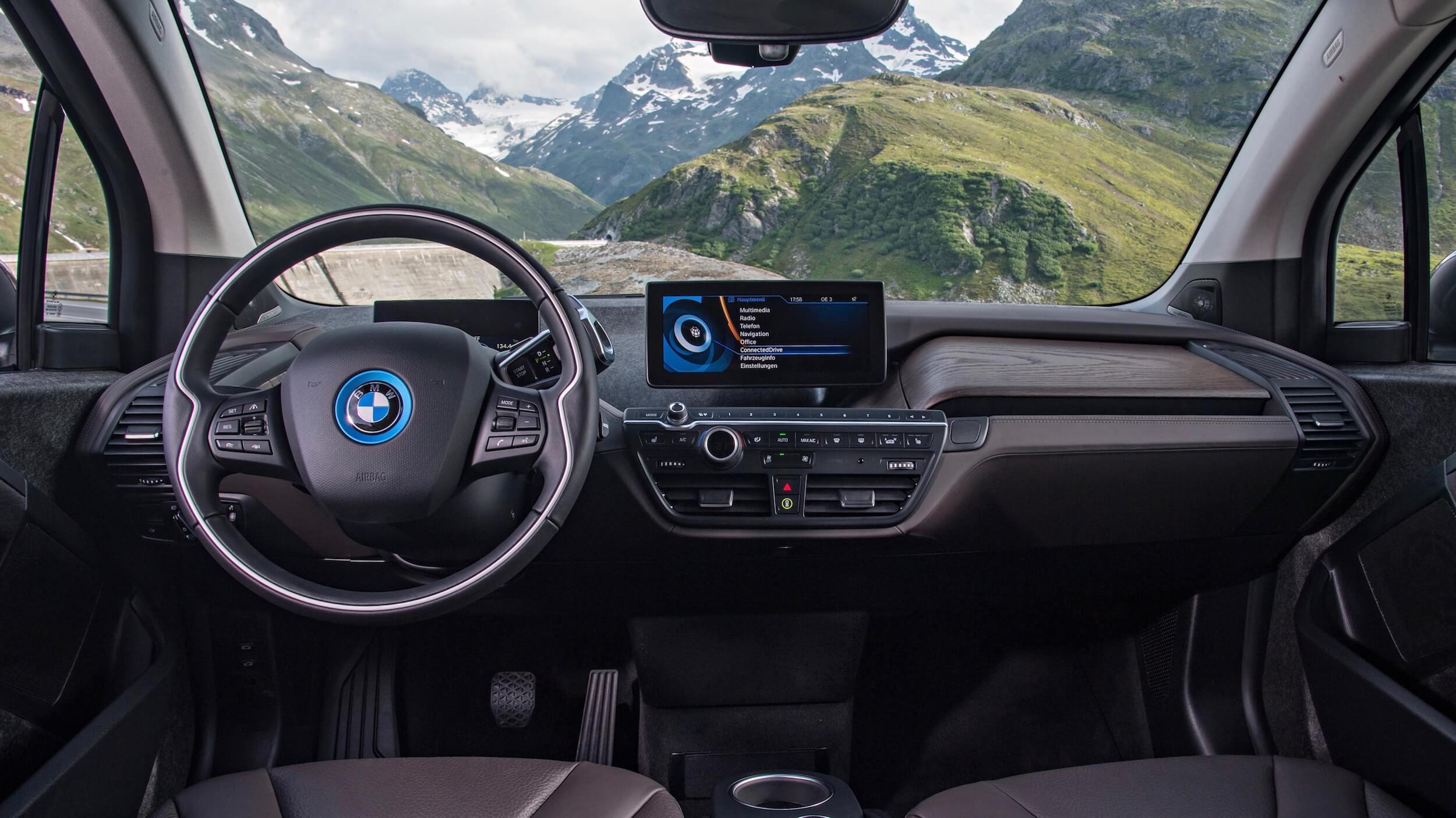 2016 BMW i3 interieur