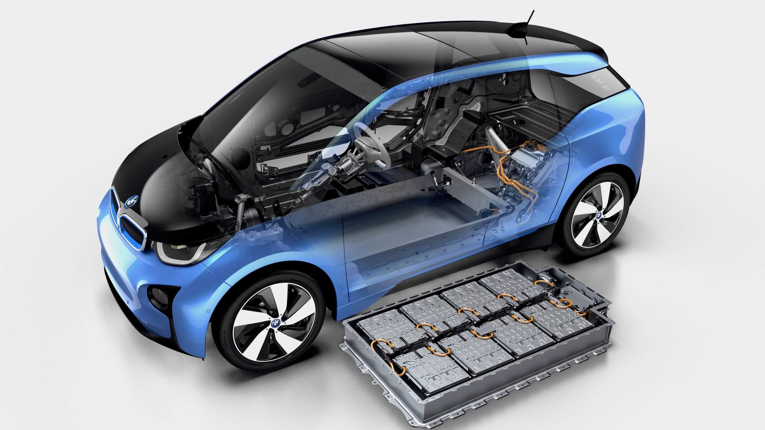 BMW i3 94Ah batterij