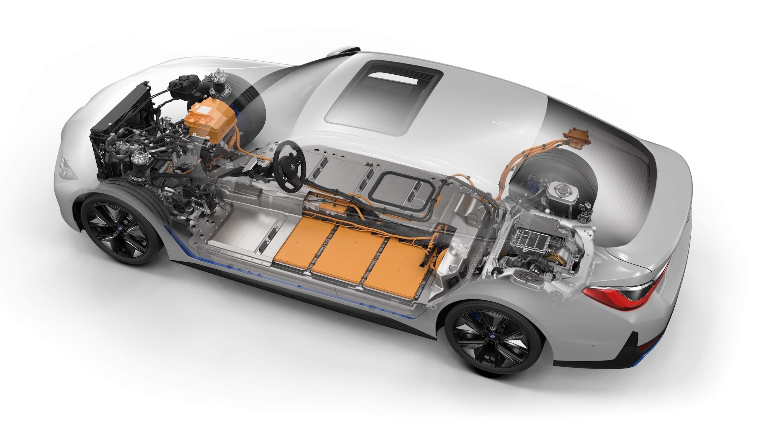 BMW i4 eDrive40 accu