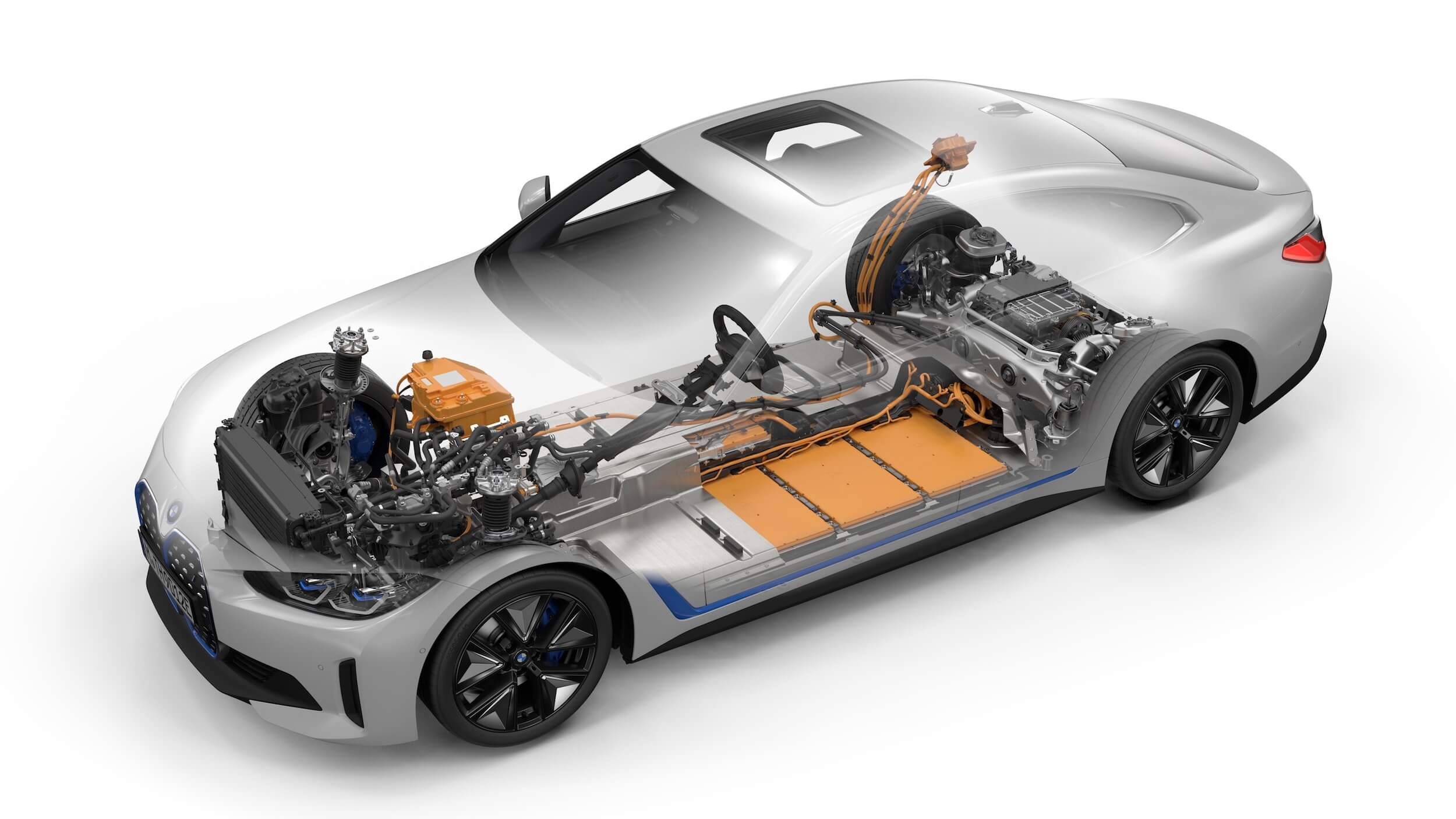 BMW i4 eDrive40 batterij