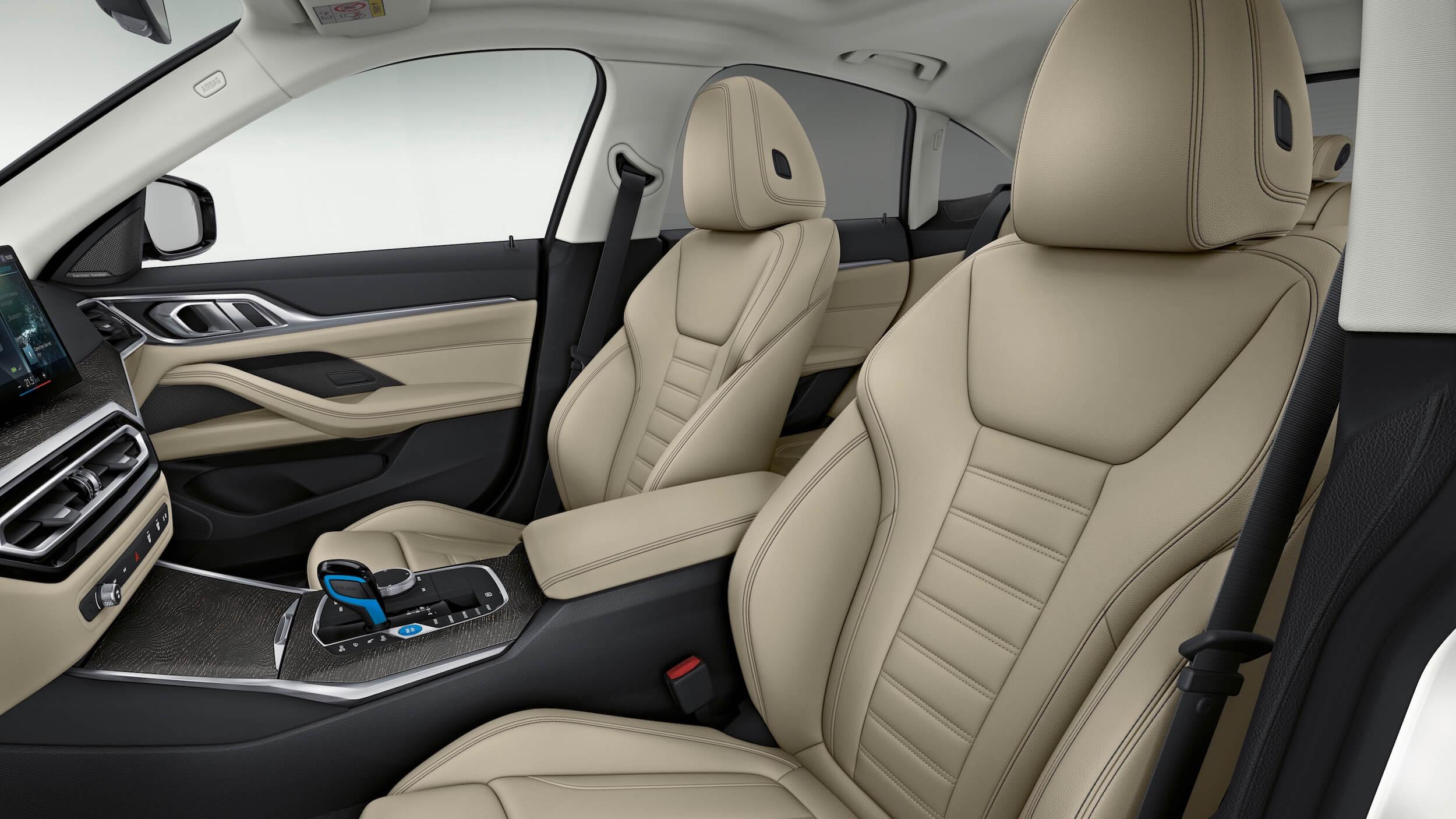 BMW i4 eDrive40 zetels