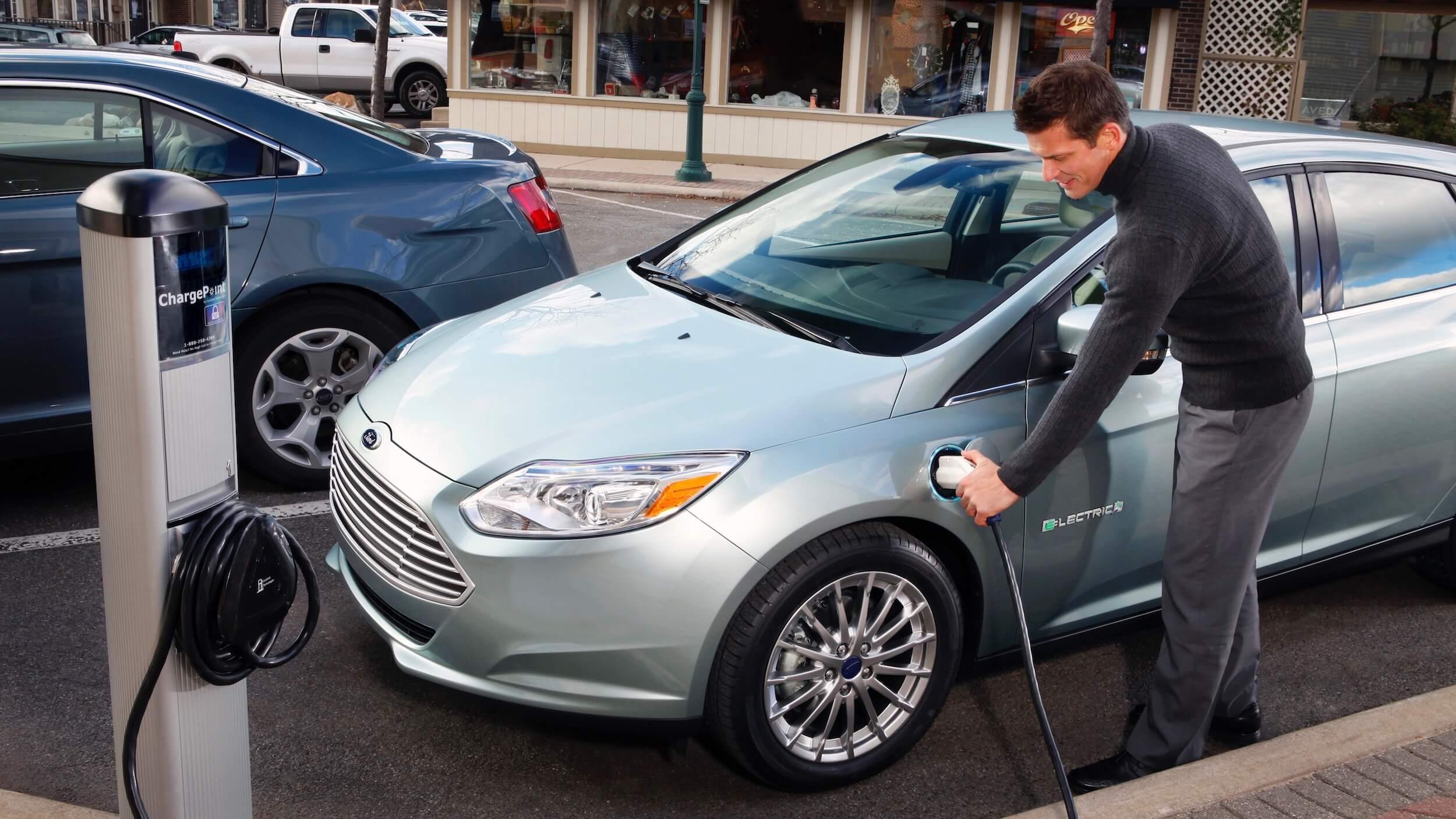 Elektrische Ford Focus