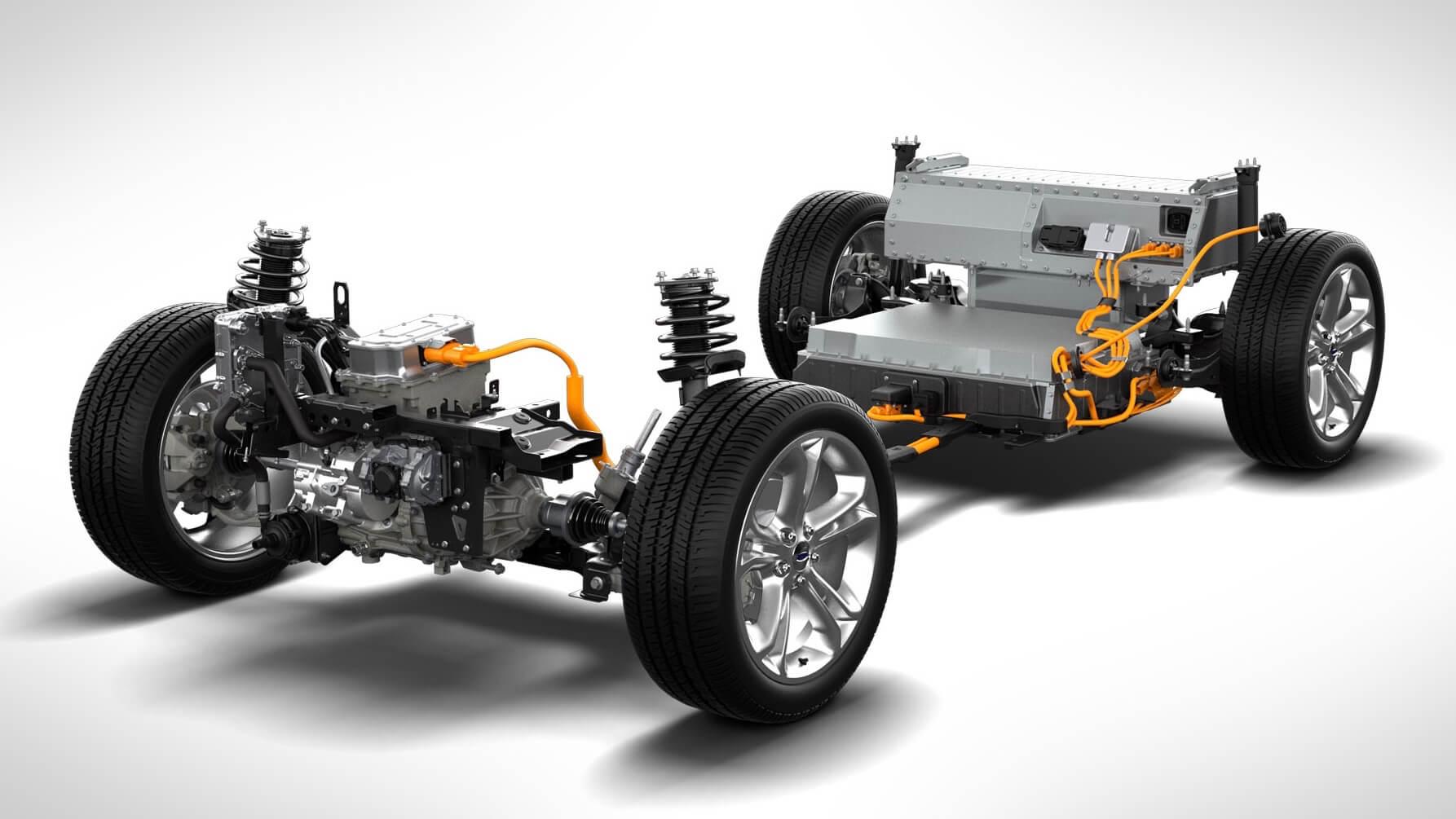 Ford Focus Electric aandrijflijn