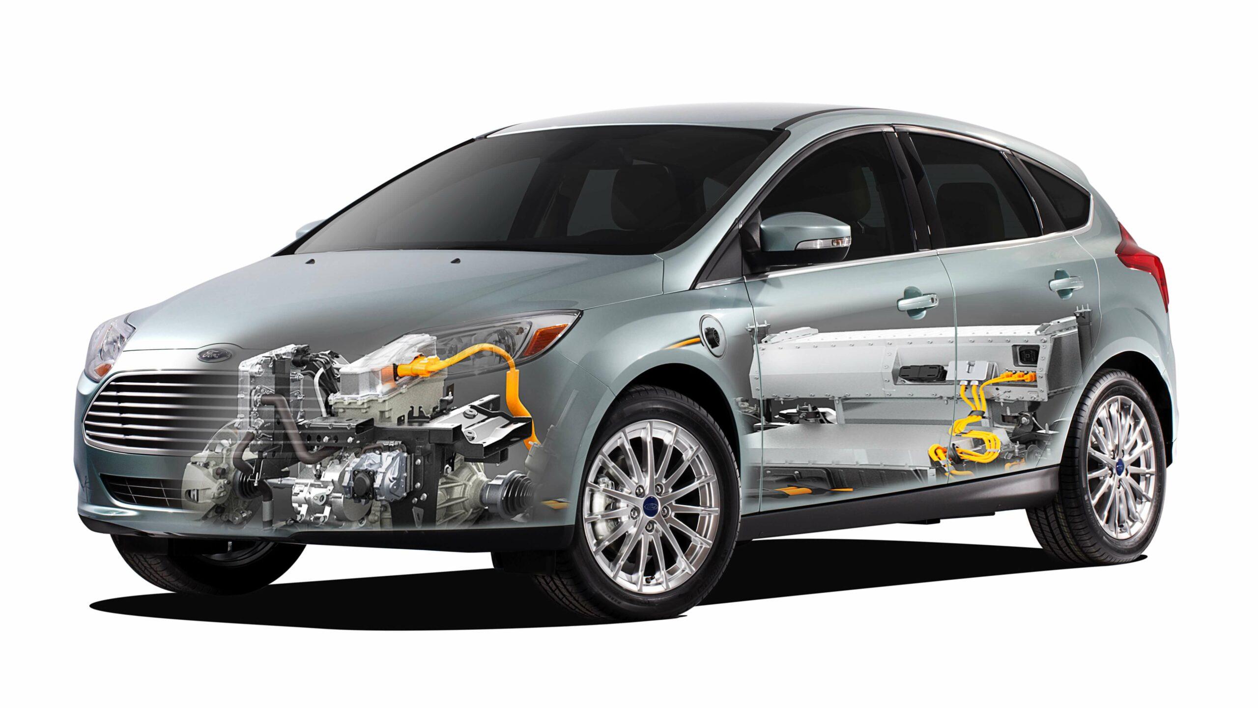 Ford Focus Electric aandrijving