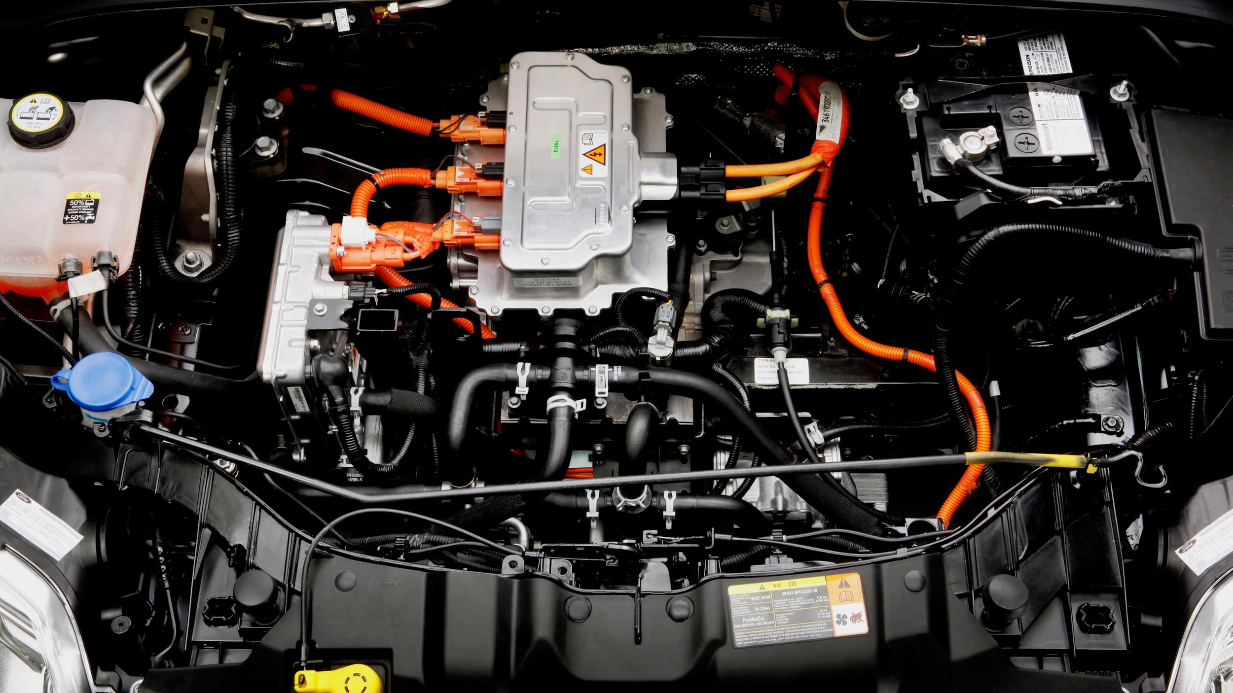 Ford Focus Electric motor