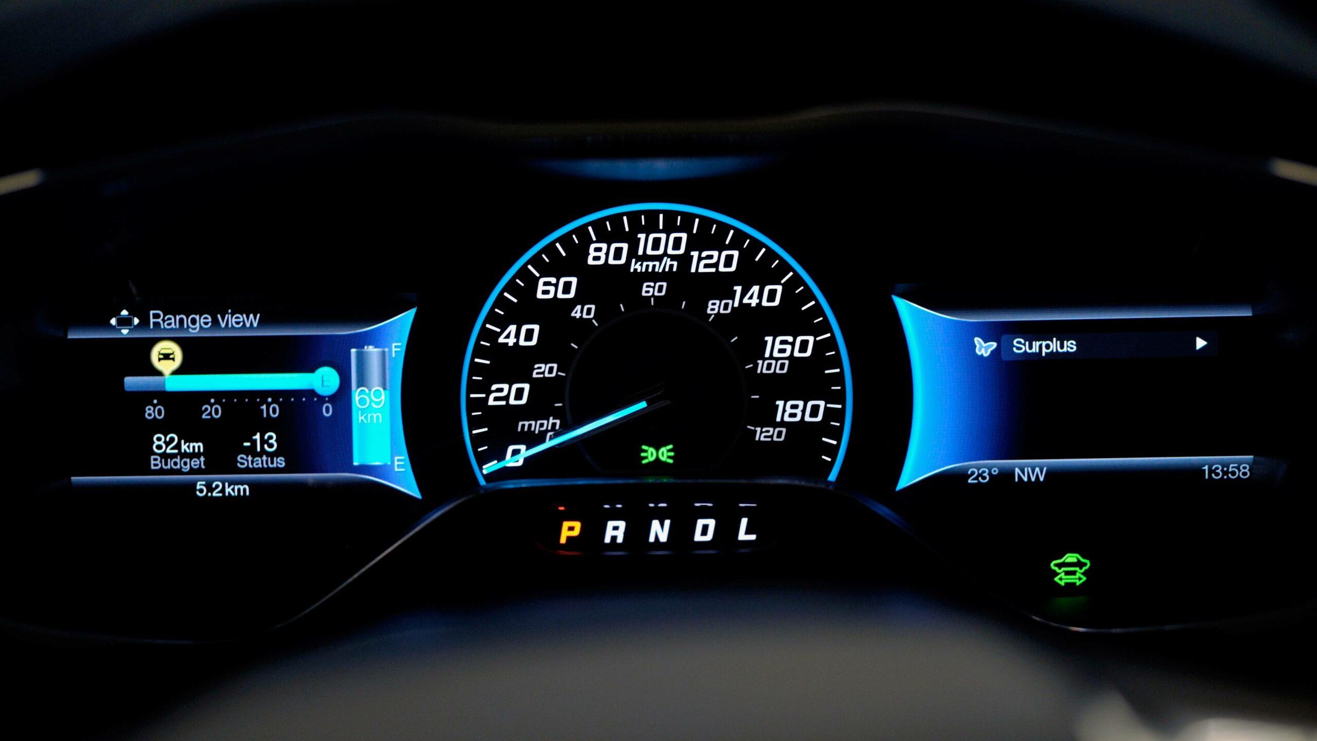 Ford Focus Electric snelheid
