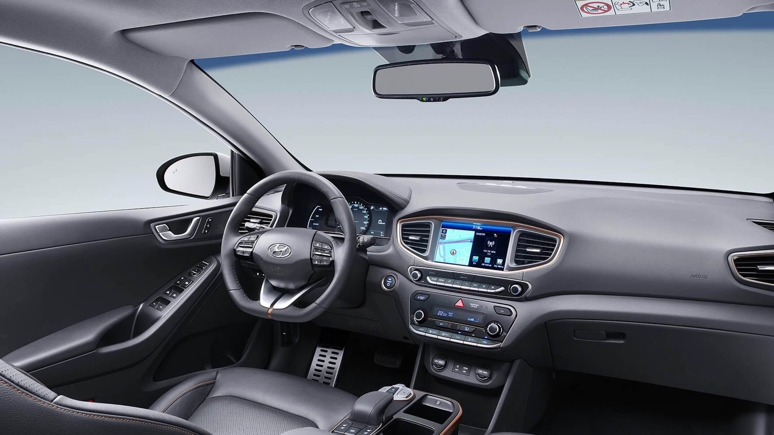 Hyundai Ioniq 2016 28 kWh interieur