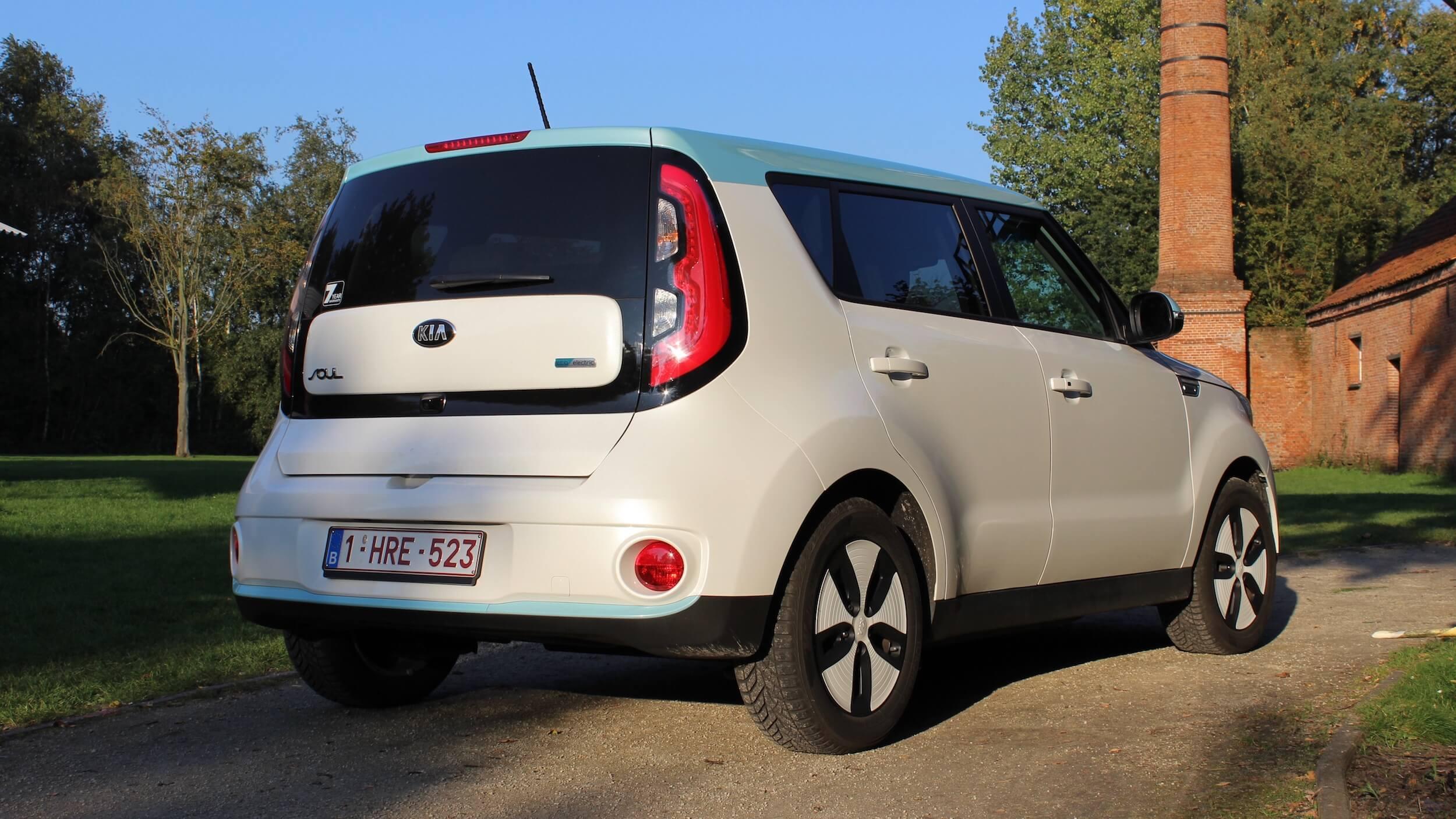 Kia Soul EV elektrische auto
