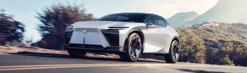 Lexus LF Z elektrische SUV 1