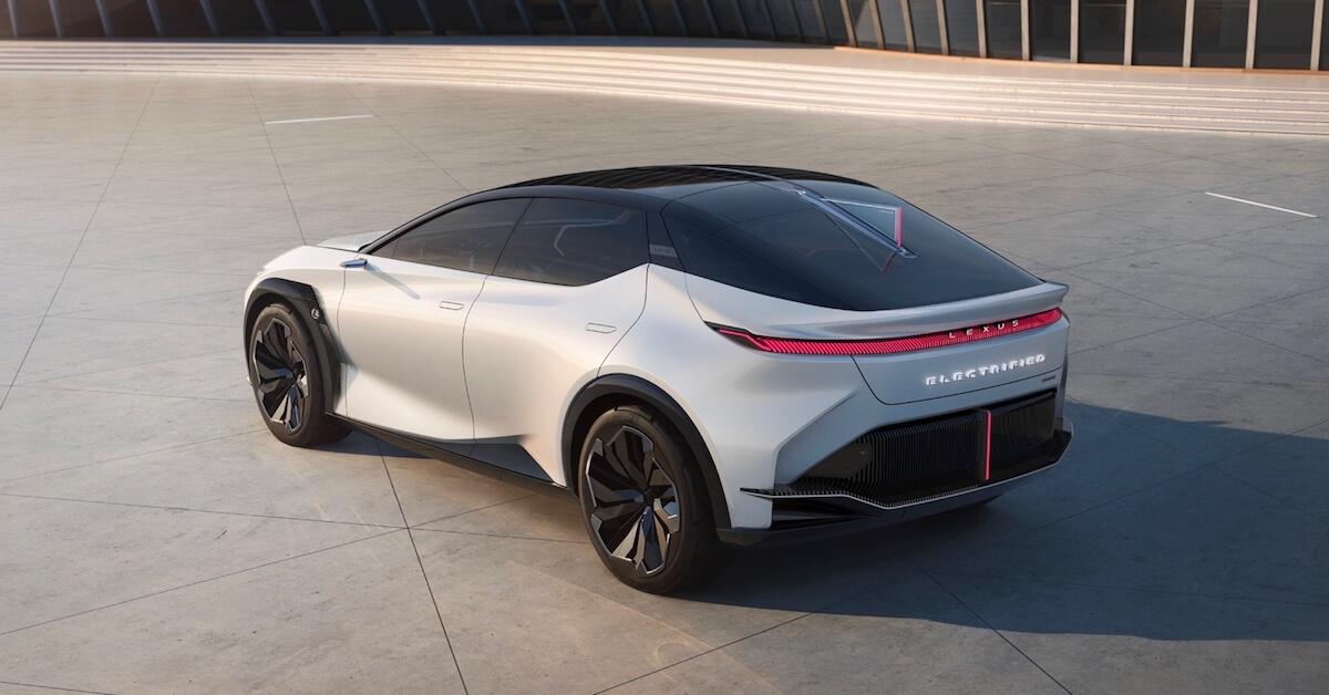 Lexus LF Z elektrische conceptauto