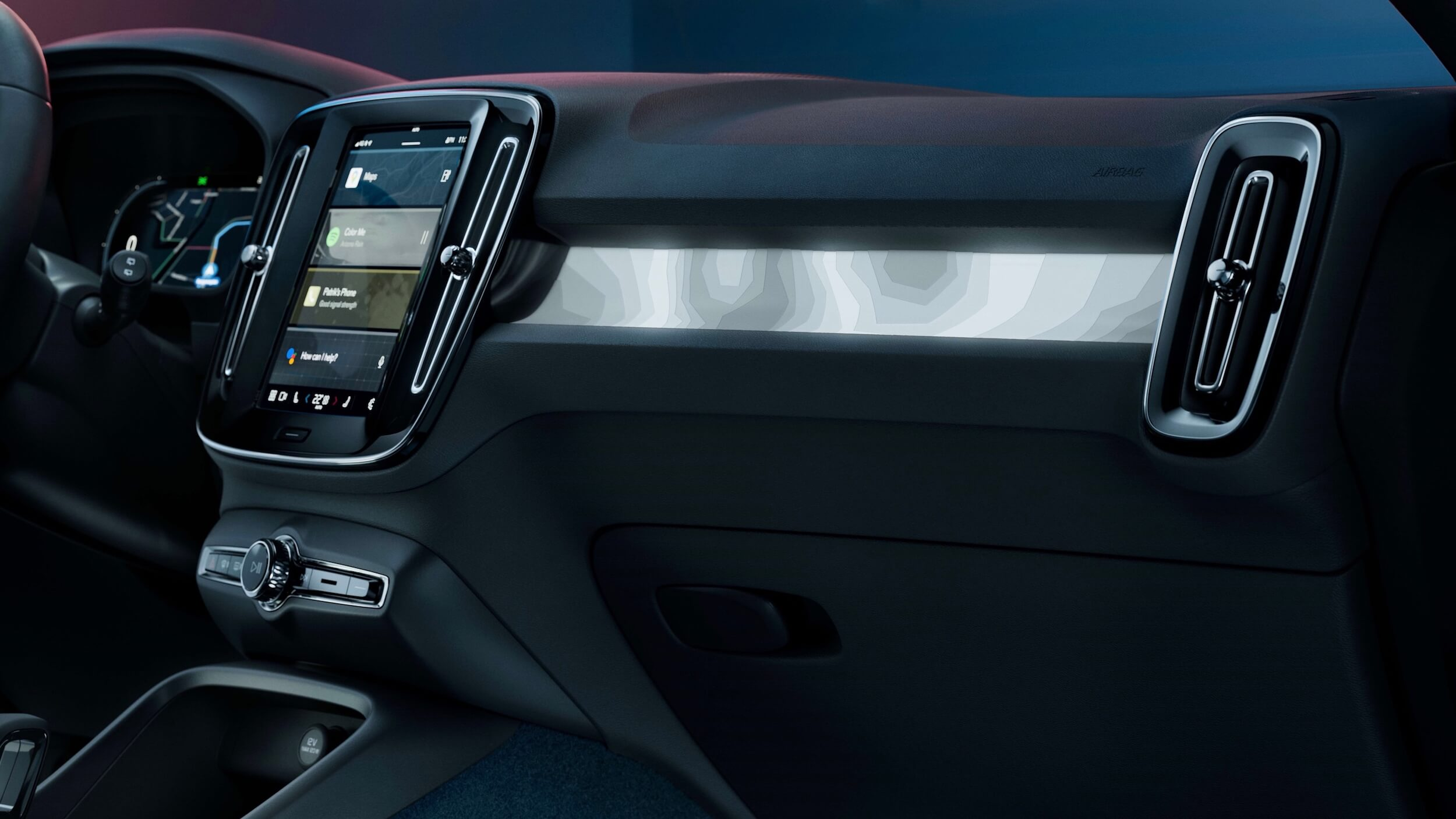 Volvo C40 Recharge interieur