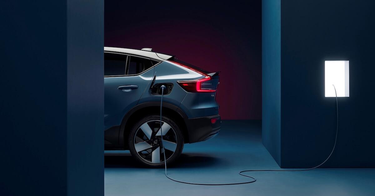 elektrische Volvo C40 opladen