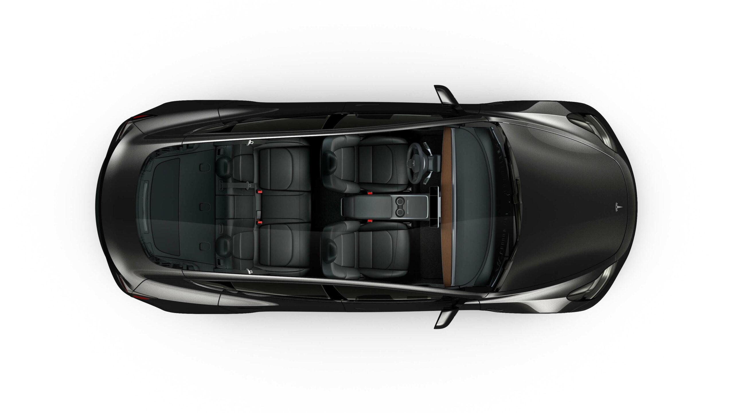 2021 Tesla Model 3 zetelconfiguratie