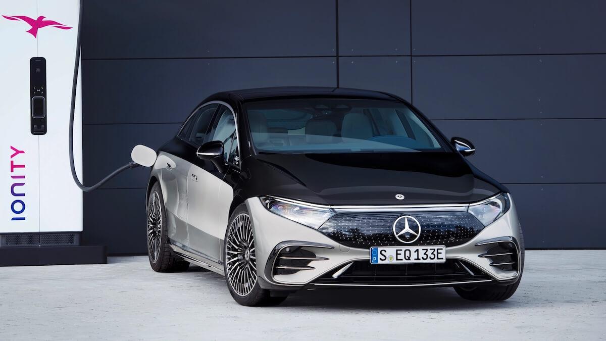 Mercedes EQS opladen