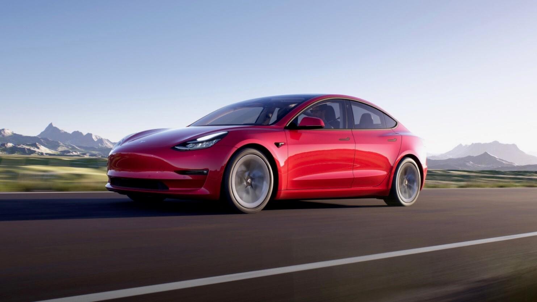 Nieuwste Tesla Model 3