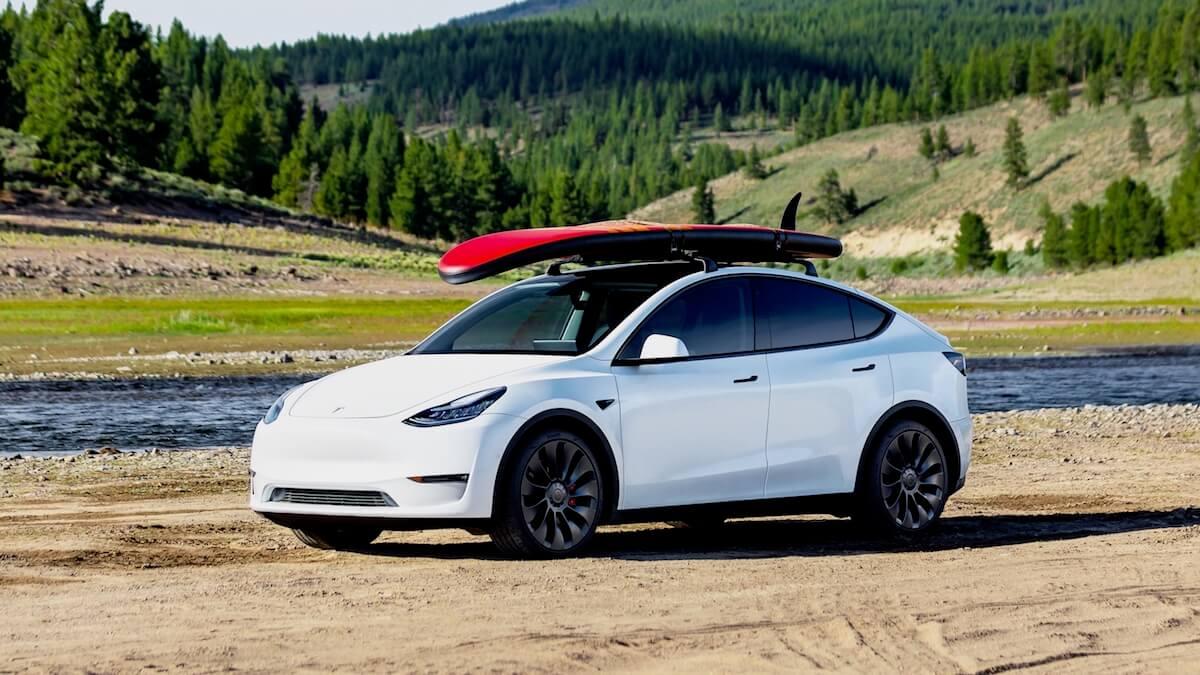 Tesla Model Y dakdrager