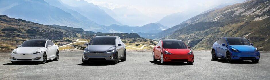 Tesla SEXY line up