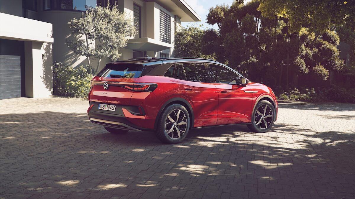 VW ID.4 GTX rood