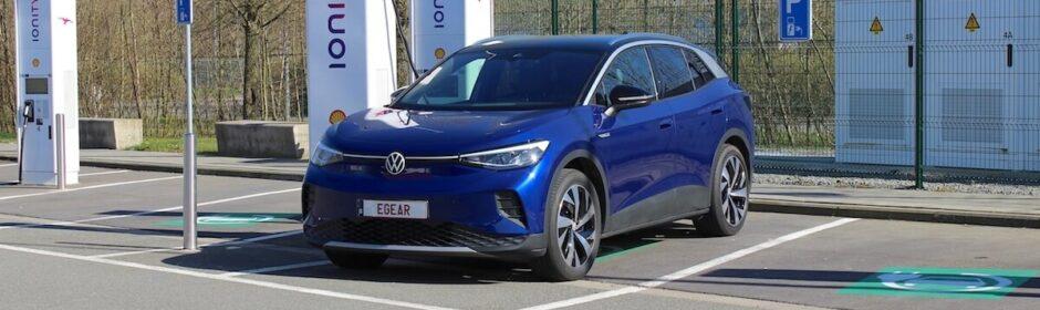 Volkswagen ID.4 met EGEAR nummerplaat