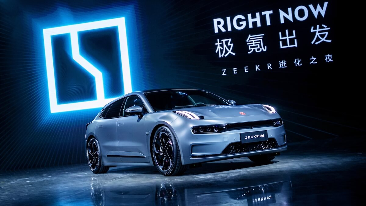 Zeekr 001 elektrische auto