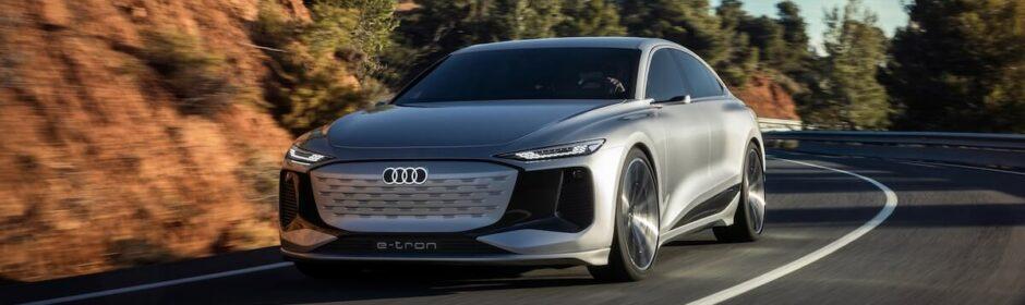 elektrische Audi A6 e tron