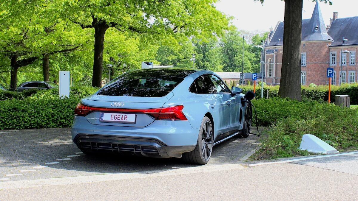 Audi e tron GT achterkant