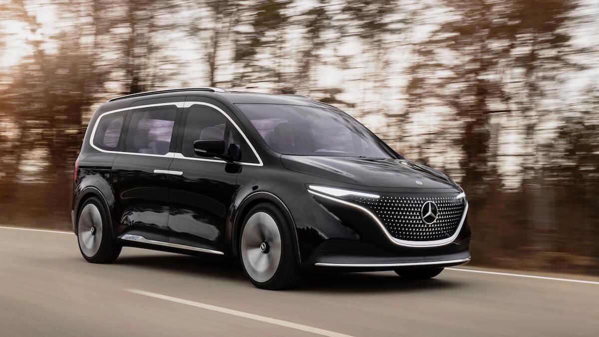 Mercedes EQT elektrisch
