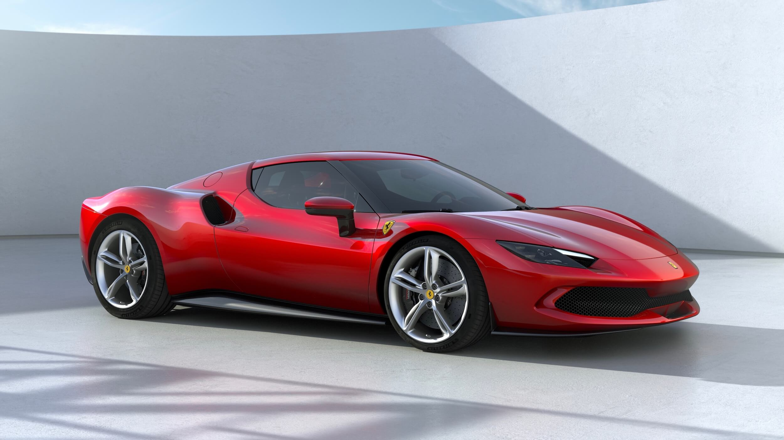 Ferrari 296 GTB rood