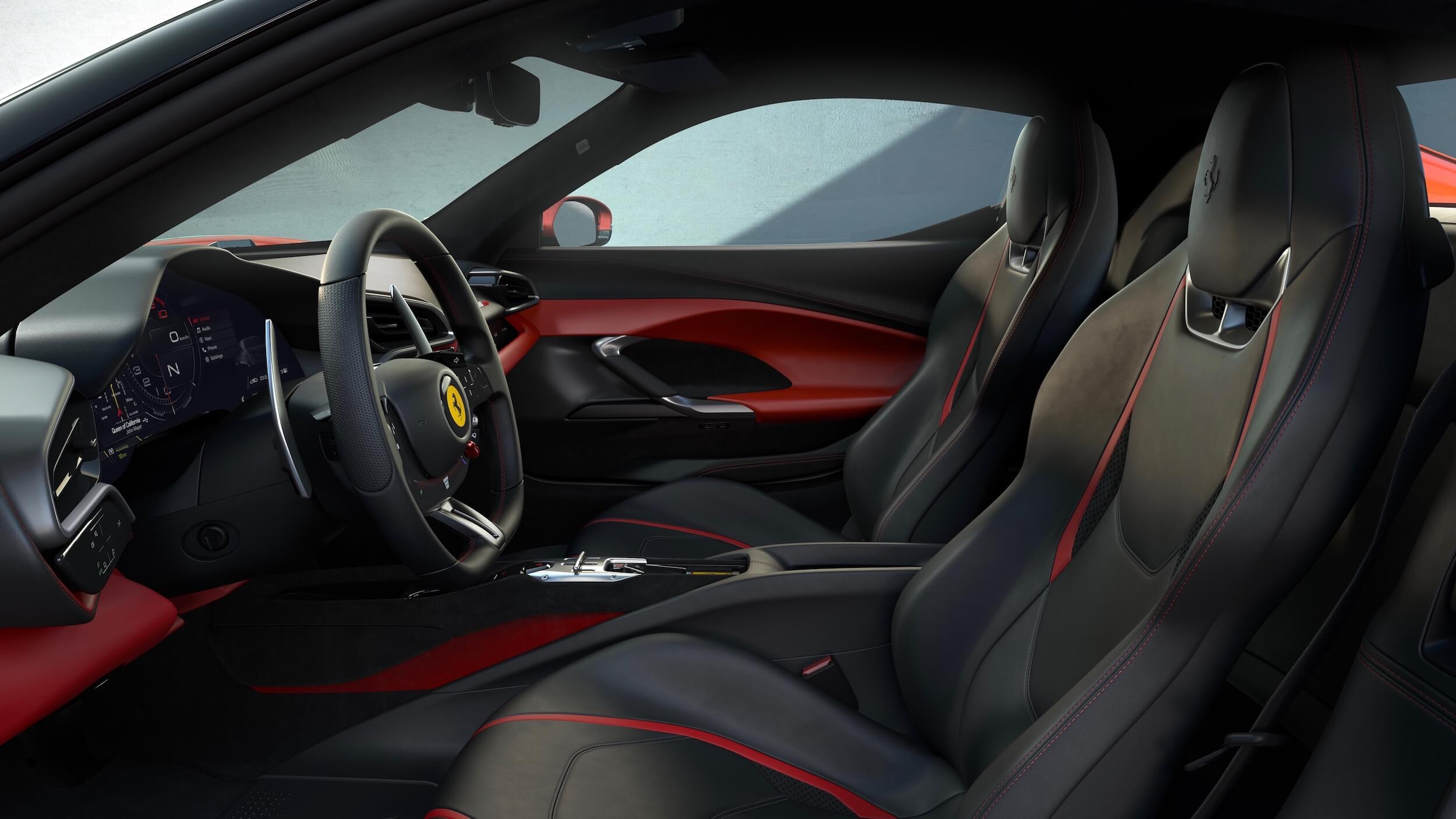 Ferrari 296 GTB zetels