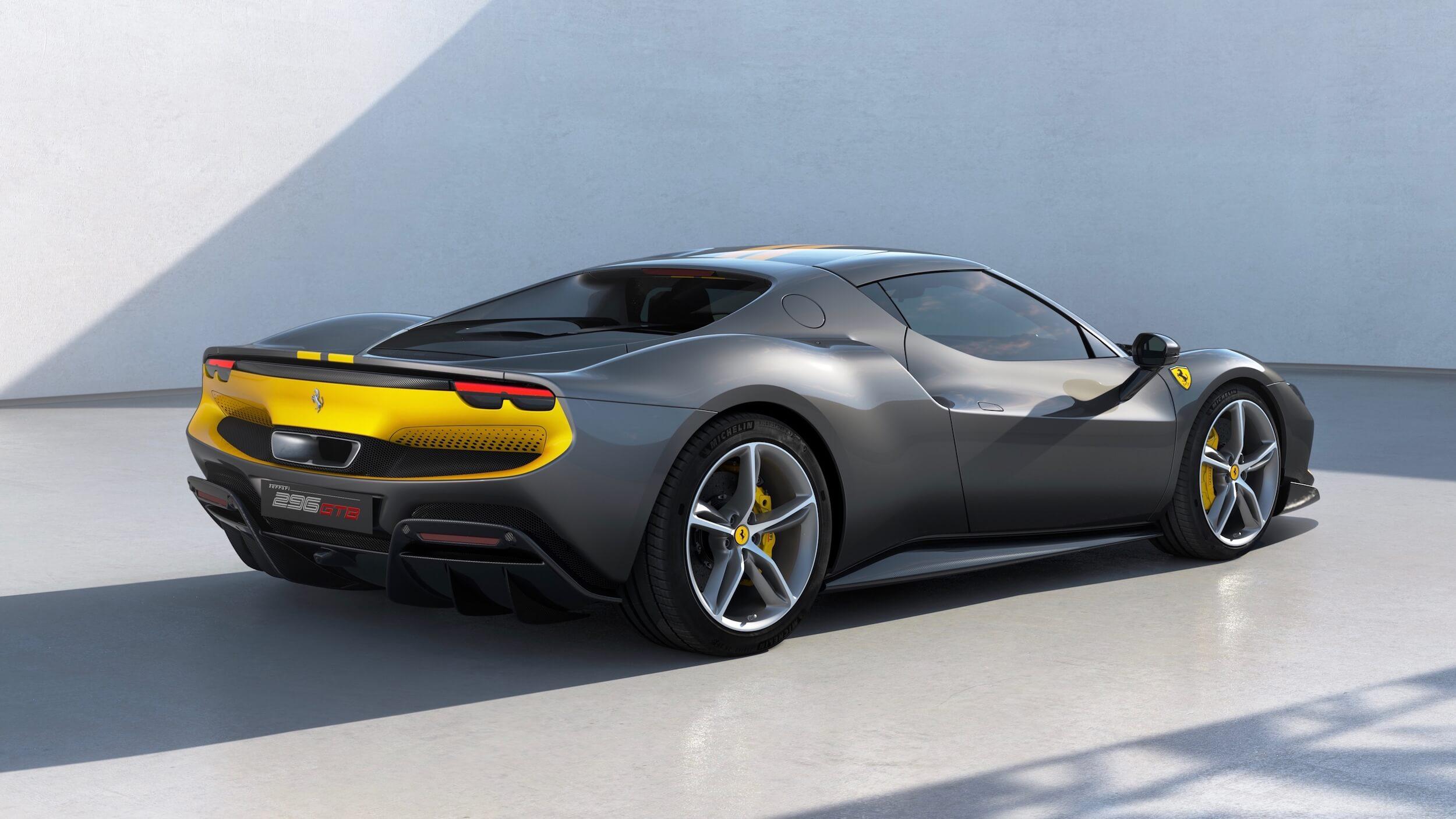 Ferrari 296 GTB zwart