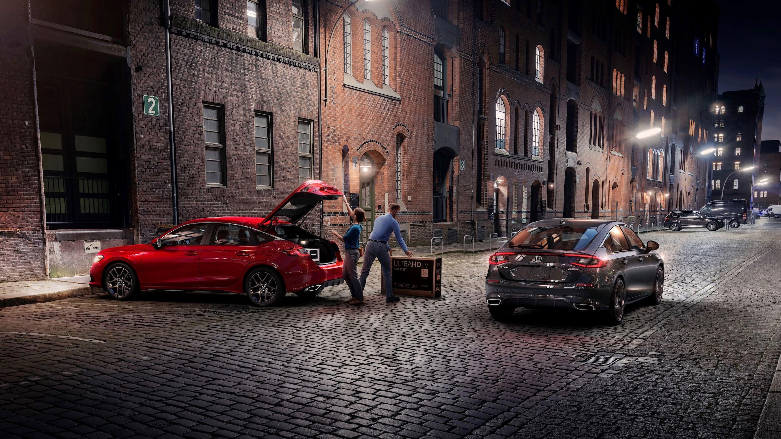 Honda Civic Hatchback hybride 5