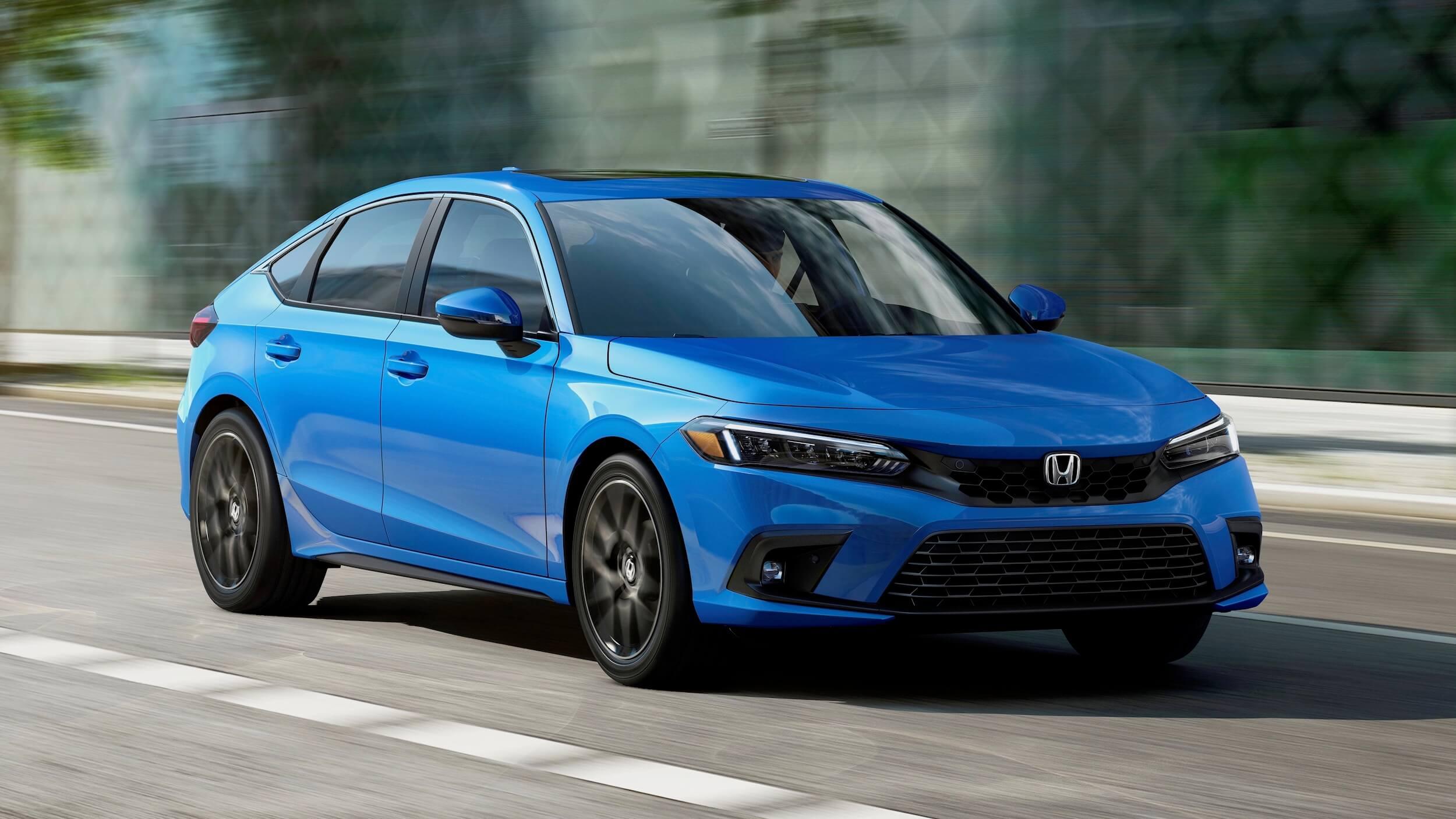 Honda Civic Hatchback hybride 6