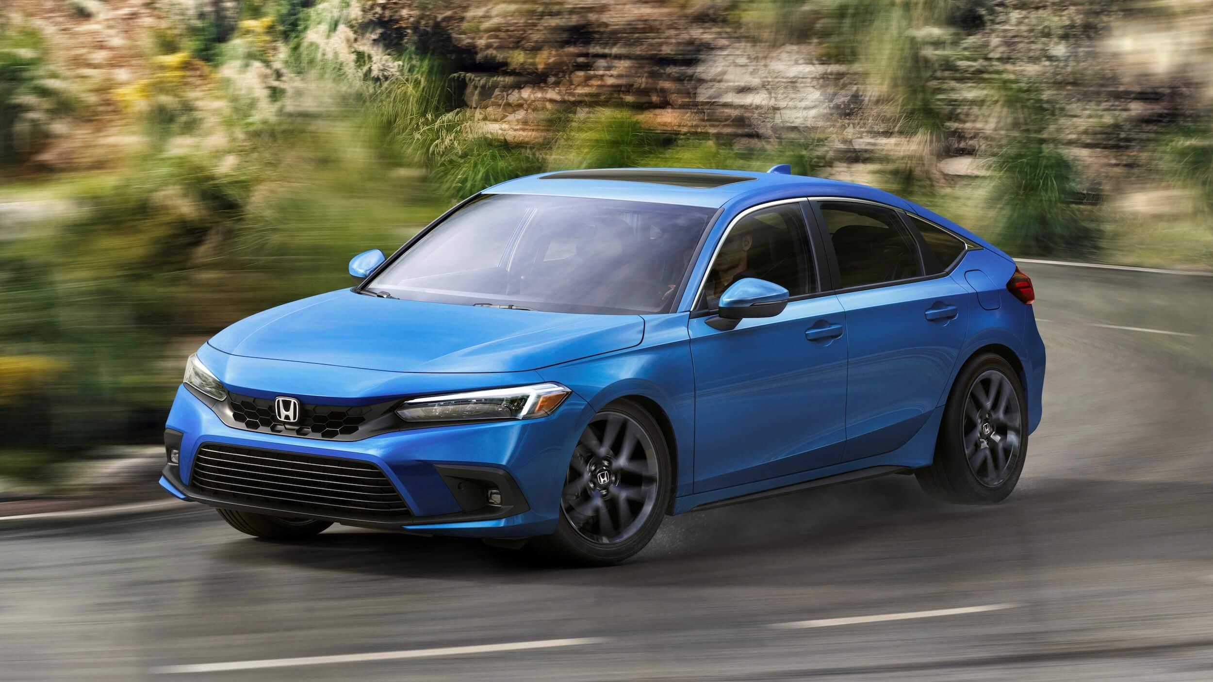 Honda Civic Hatchback hybride 7