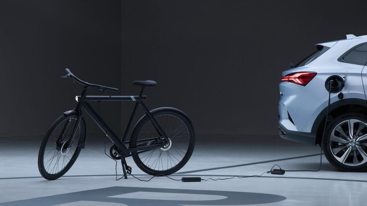 MG Marvel R v2g fiets opladen