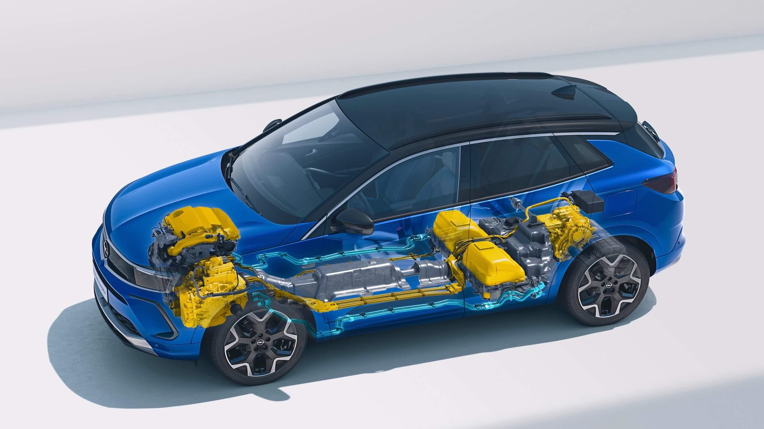 Opel Grandland Hybrid batterij