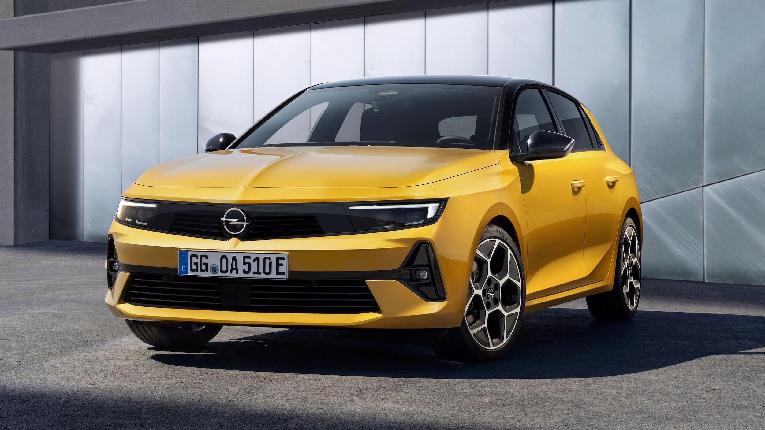 Opel Astra PHEV 2